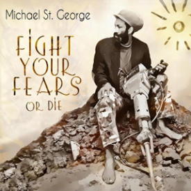Fight Your Fears Album Cover Featuring Amara Kante